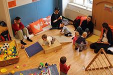 Foto aus der Babygruppe